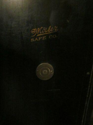 """Antique MOSLER SAFE w/ Combination Lock 48""""x33x25 P/U Zip 02072 Bank Dispensary"""