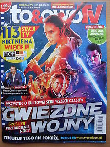To & Owo TV Magazine 50/2015 STAR WARS on front cover in.Harrison Ford,Adele - Czestochowa, Polska - To & Owo TV Magazine 50/2015 STAR WARS on front cover in.Harrison Ford,Adele - Czestochowa, Polska