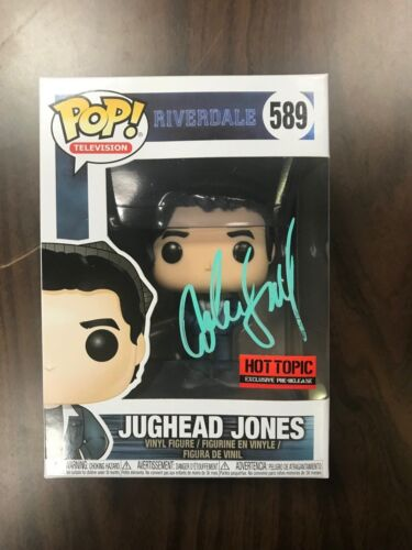 Riverdale Jughead Cole Sprouse Funko Pop Vinyl Autographed Signed COA #5