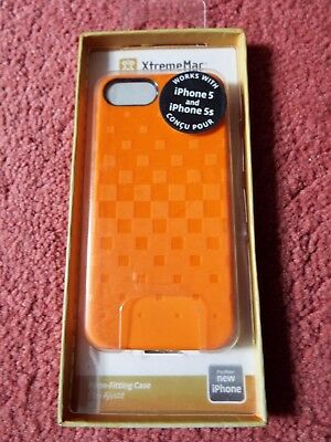 XtremeMac iphone 5 form fitting case orange