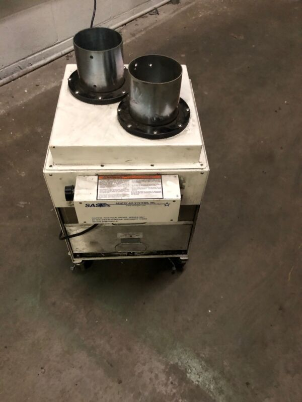SAS Sentry Air Systems Mounted Air Cleaner Ductless Spray Booth SS-300-FSd