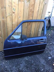 Vw mk2 small doors, small bumpers.
