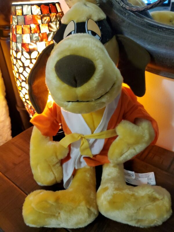 "Hong Kong Phooey 20"" Plush Toy Stuffed Animal Cartoon Network Hanna Barbera New"