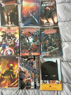 Marvel, DC, Image Comic Trade Paperback Collection