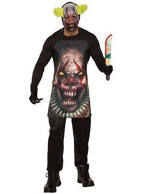 Forum Novelties Horror Clown Schürze & Maske Erwachsene Herren Halloween Kostüm