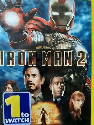 C18 DVD MARVEL IRON MAN 2 Robert DOWNEY Jr. Mickey ROURKE Scarlett JOHANSSON