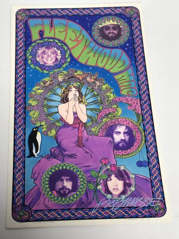 Fleetwood Mac Original 1970 Concert Handbill