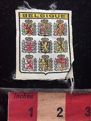 Souvenir BELGIUM / Belgique (Kinda-like-a Patch - But No Back Like Label) 75R