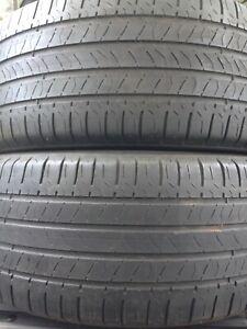 2-235/50R17 Michelin all season tires