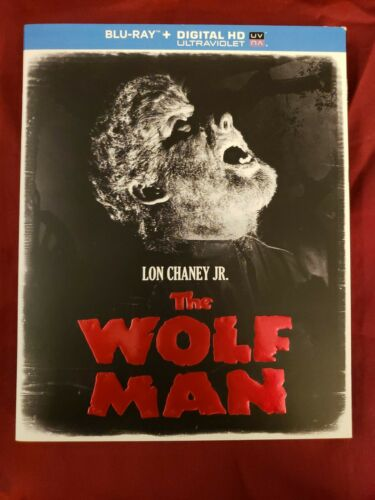 The Wolf Man Bluray W/ OOP Slipcover Lon Chaney Jr Like No Scratches No Digital - $16.00