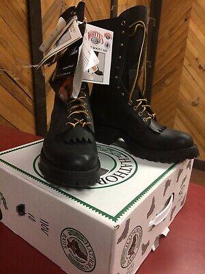 Hathorn Original 110V Black Smoke Jumper Boots Size 8 E