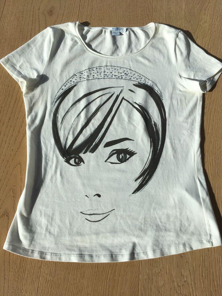 """Marella Sport """"made in Italy"""" t-Shirt weiß mit Glitzer in Friedberg"""