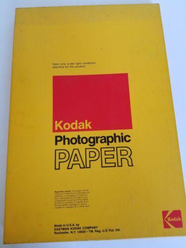 "Vintage Kodak Rapid photographic paper 12"" x 18"