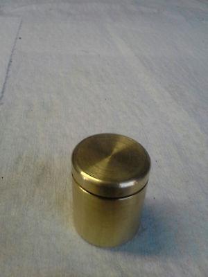 Supercan brass 1x1 pill case waterproof