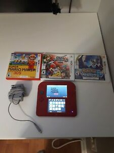 Nintendo 2 DS with 3 games + 1