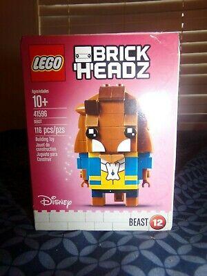 Lego Brick Headz Beast 41596 NEW #12 Beauty and The Beast Disney.