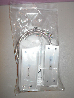New Sentrol Interlogix 2707ad-l High Security Contact Armored Cable Dpdt