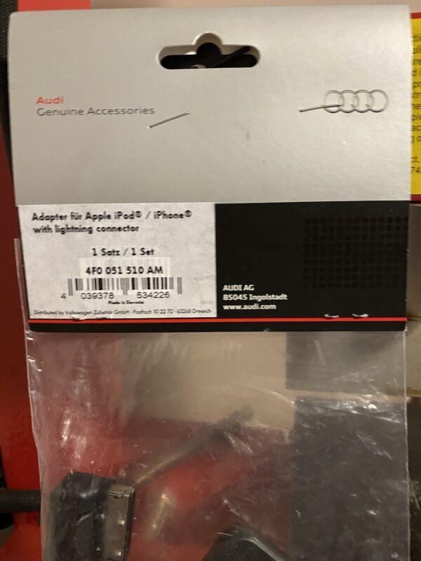 GENUINE+AUDI+IPHONE+IPOD+IPAD+LIGHTING+LEAD+CABLE+USB+SET+4F0051510AM