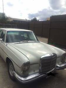 1968 Mercedes-Benz 280 SEL Sedan Broadmeadows Hume Area Preview
