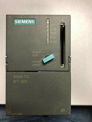 Siemens S7300 Cpu 314 6es7314-1ae01-0ab0