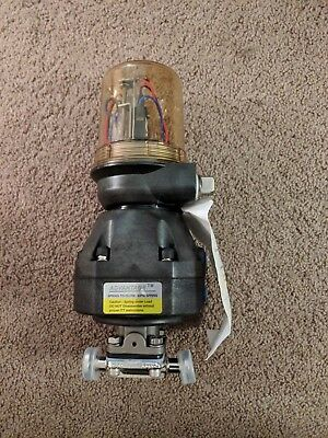 Itt Industries Pure-flo Pneumatic Actuator And Switch 12 Tri-clover