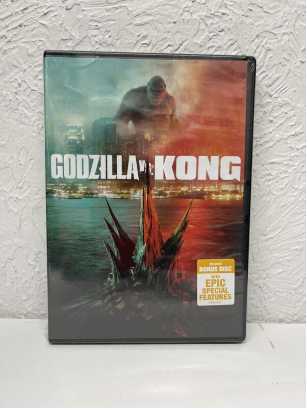 Godzilla VS Kong 2-disc DVD 2021 New Authentic, (BEWARE OF CHEAP FAKES SOLD)