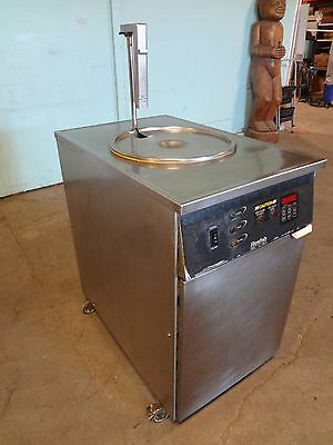 Resfab Deep Well Electric 60lbs. Fryer Programmable Control Oil Filtration