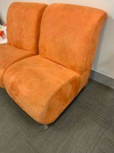 Orange Chairs for sale.