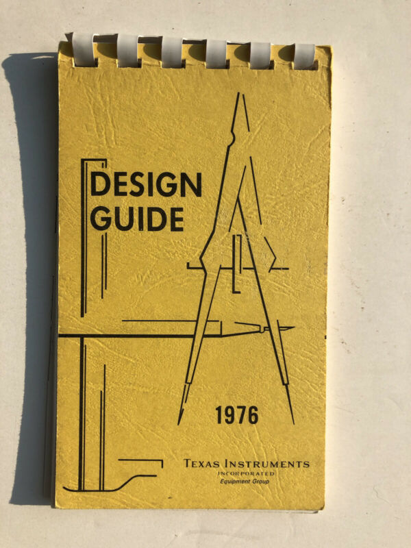 Design Guide 1976 Texas Instruments