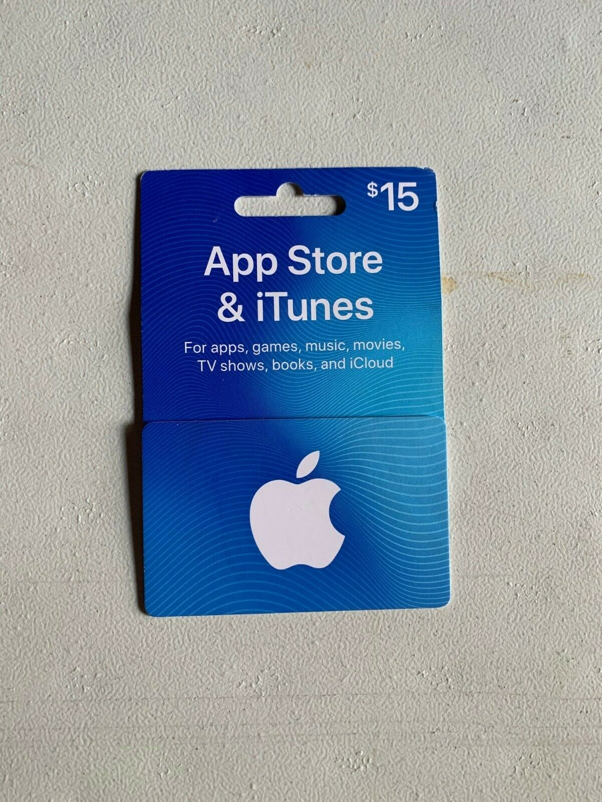 15 Apple App Store And ITunes Gift Card - $12.50
