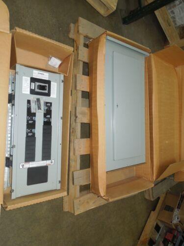 Siemens P1 200a 3ph 480y/277v Main Breaker Panel W/ 5- Bqd Breakers Nr38 Nema 3r