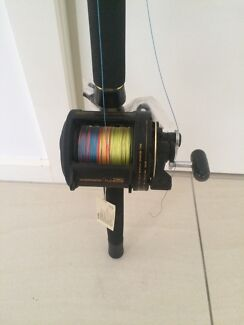 Shimano rod and reel combo