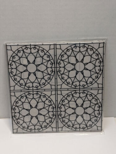 Stampin Up Graceful Glass 6 by 6 Desinger Vellum