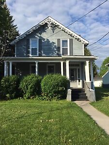 2 Bedroom Upstairs Apartment Available June 1st.