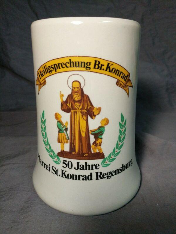 50 Jahre Pfarrei St. Konrad Regensburg Beer Mug Stein (0.5 L)
