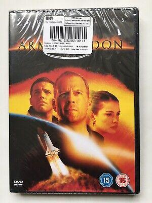 Armageddon (DVD, 2010) - Bruce Willis - NEW & SEALED