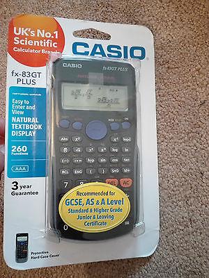 CASIO FX-83GT Plus 260 Functions Scientific Calculator