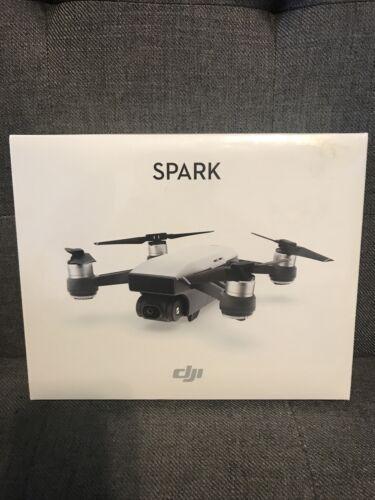 DJI Spark Camera Portable Mini Drone - Alpine White Brand New - $345.00