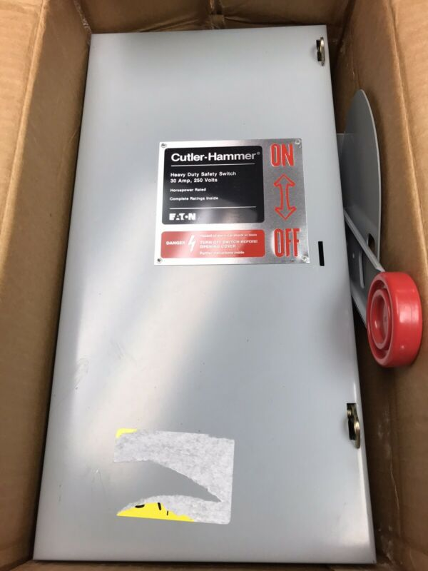 EATON DH321NGK SER A HEAVY DUTY SAFETY SWITCH