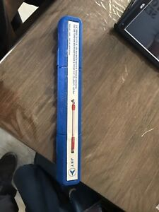 Torque wrench 3/8 drive 75 lbs max
