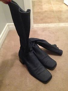 Tall Jean Boots--size 10