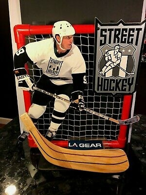 1995 Wayne Gretzky LA Gear Street Hockey Shoes Advertising Store Display