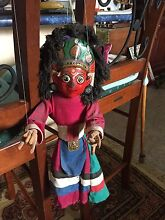 Vintage hand painted Nepalese puppet Elanora Gold Coast South Preview