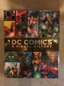 D. C. COMICS A VISUAL HISTORY UPDATED EDITION