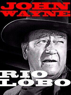 35mm Feature Film: RIO LOBO (1970) John Wayne - IB TECHNICOLOR - Western