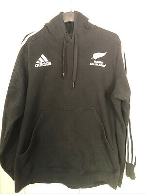 Adidas All Blacks Maori Rugby Union Hoodie 2XL