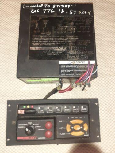 CODE 3 3990 Series Siren With 3997R RLS Remote Controller