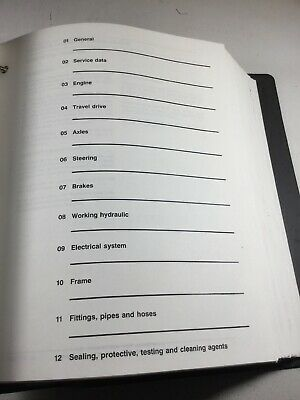 New Holland Lw50.b Lw80.b Wheel Loader Repair Service Manual