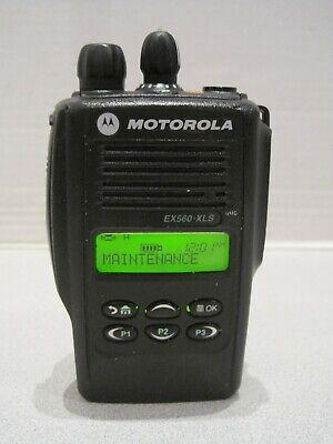 Motorola Ex560 Xls Uhf 160 Ch 403-470 Mhz Two Way Radio