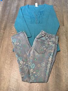 10 PIECES OF GIRL CLOTHING SIZE *12-14//(2)